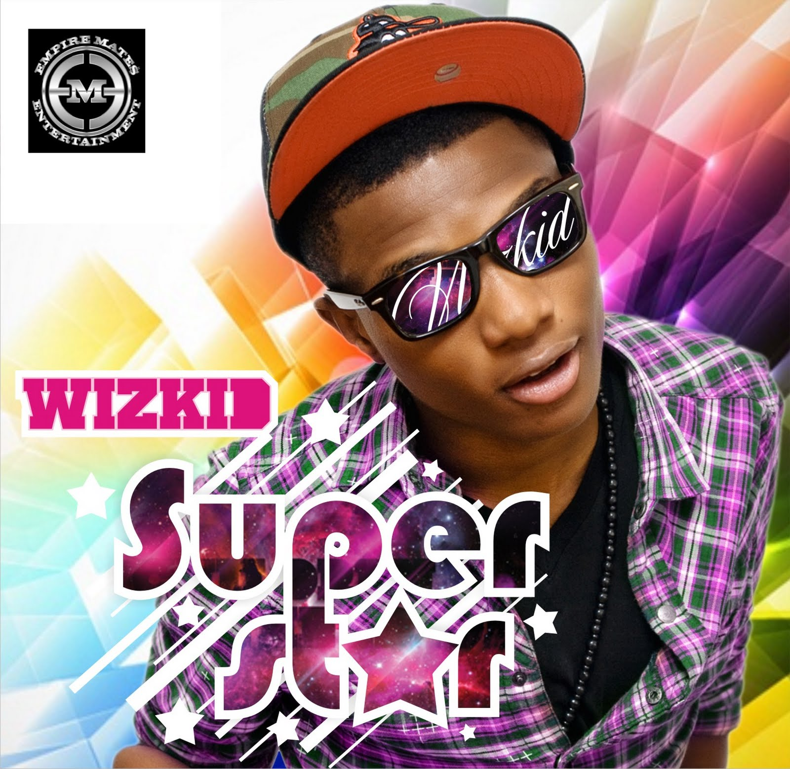 Wizkid Album cover- superstar