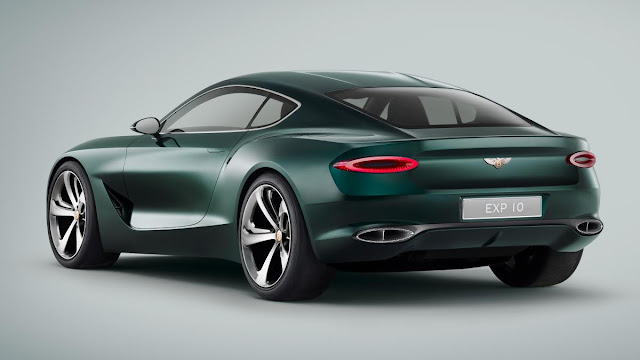 Next Bentley EXP10 6Speed Edition back view