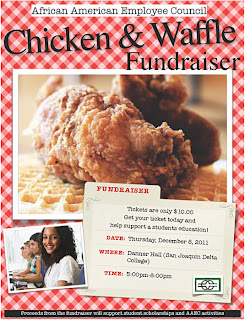 Chicken & Waffle Fundraiser