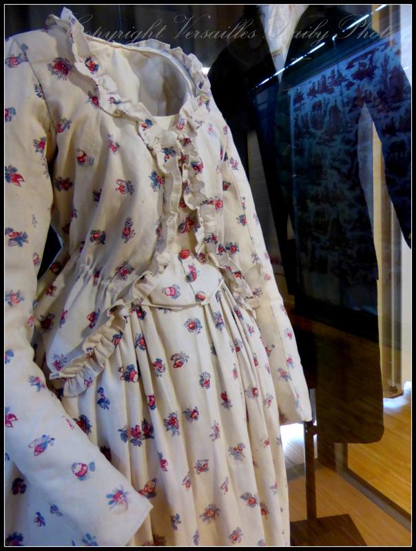 XVIIIth century Toile de Jouy clothes
