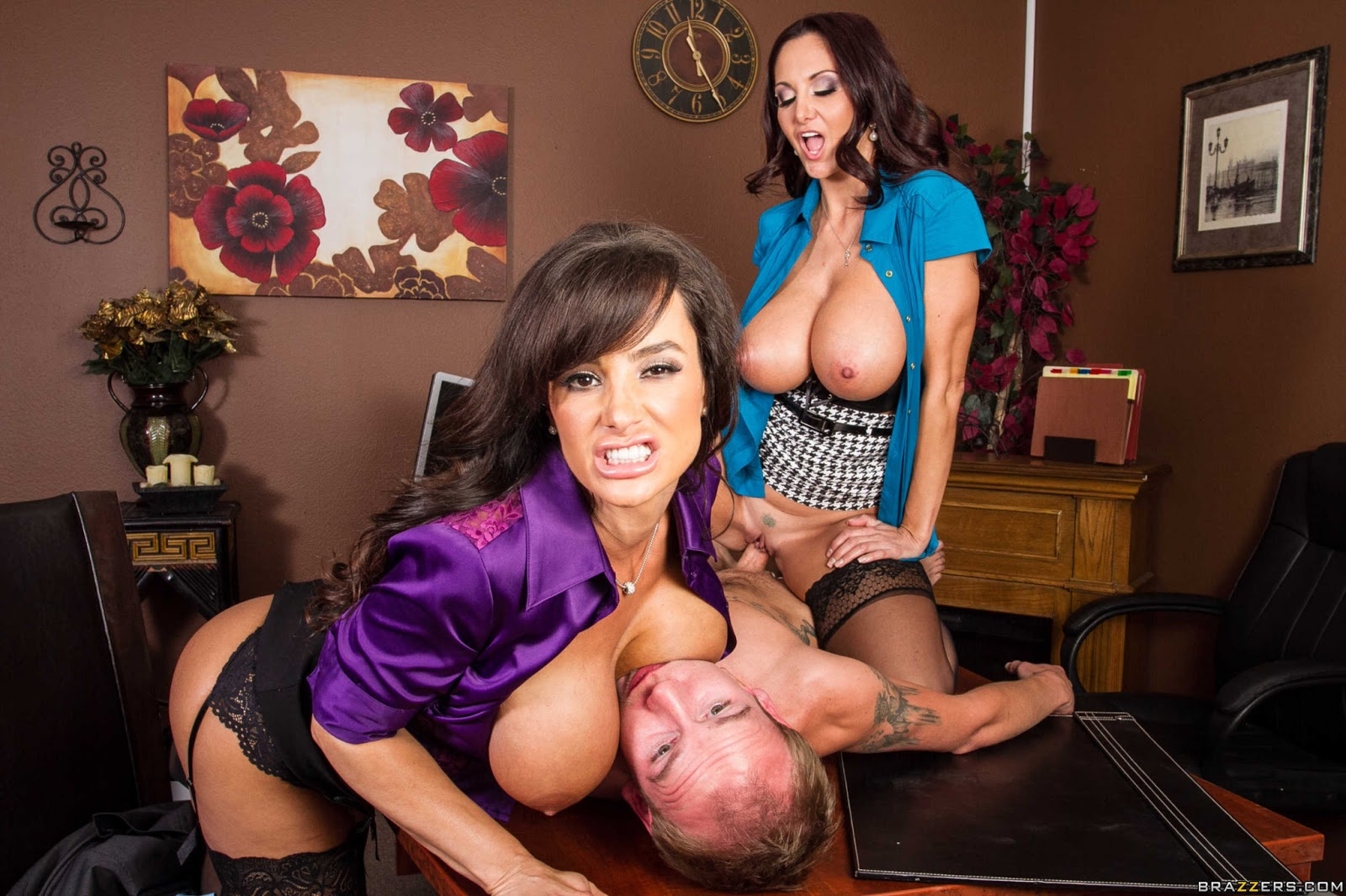 Lisa ann ava adams squirting porn