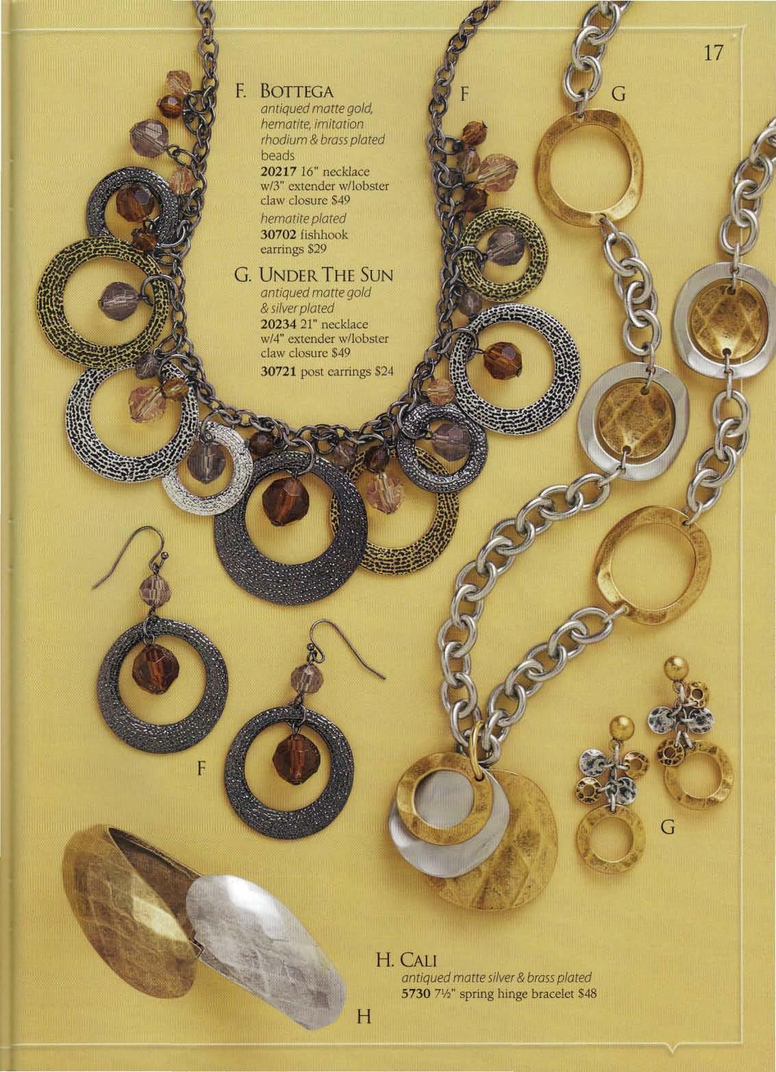 Jewelry catalog for Premier jewelry catalog 2011