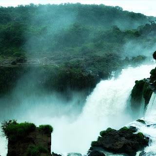 Salto San Martín, Parque Nacional de Iguazú, Puerto Iguazú.