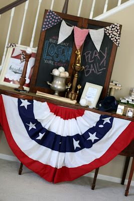 Baseball Birthday Party Decorations