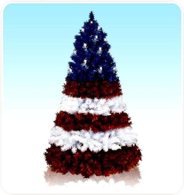 Decora y disena rboles de navidad artificiales en colores - Arboles de navidad colores ...