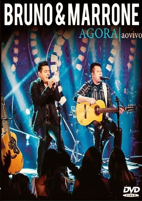 DVD Bruno e Marrone - Agora Ao Vivo