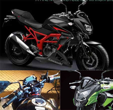 Perbedaan Kawasaki Z250SL dengan Ninja RR Mono