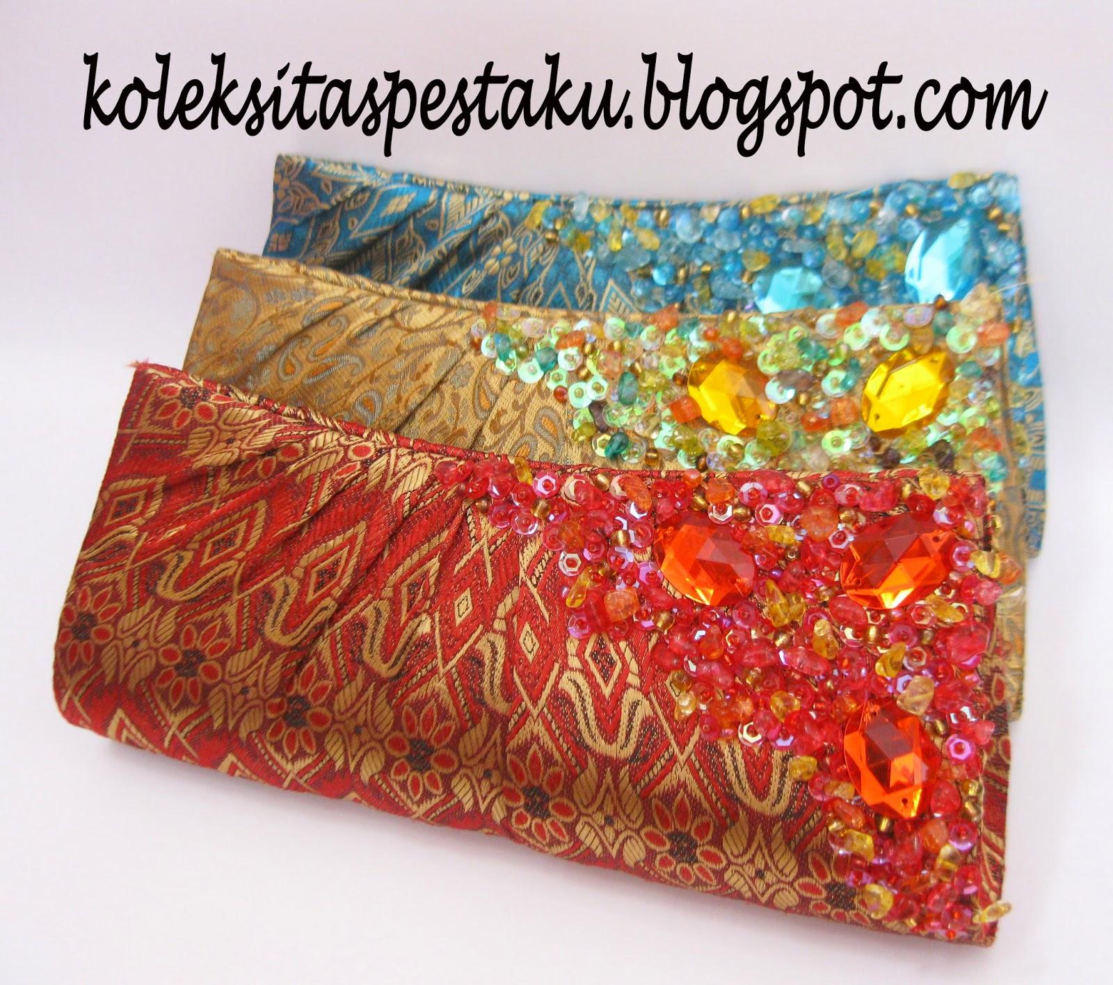 tas pesta unik tenun sari india mewah dan elegant