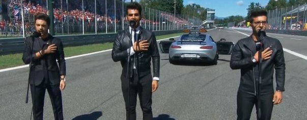 Il Volo al Gp Monza
