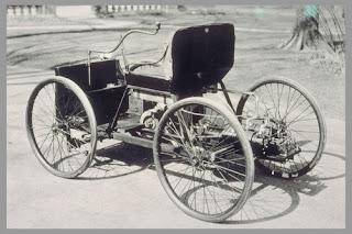 Primer automóvil construido por Henry Ford: el cuadriciclo
