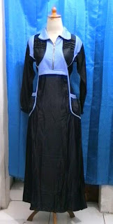 Gamis MINI-01 Biru Size Extra Small