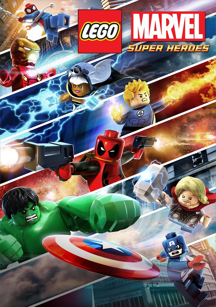 6 Malvorlagen Lego Superheroes: Héroes Animados: LEGO Marvel Super Heroes: Maximum Overload