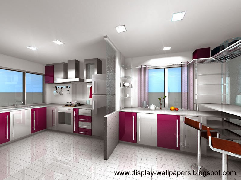 wallpapers download stylish kitchen designs images 2014