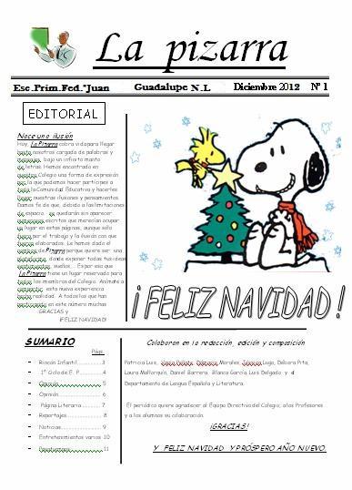 Educaci n y computaci n c mo hacer un periodico escolar for Ejemplo de una editorial de un periodico mural