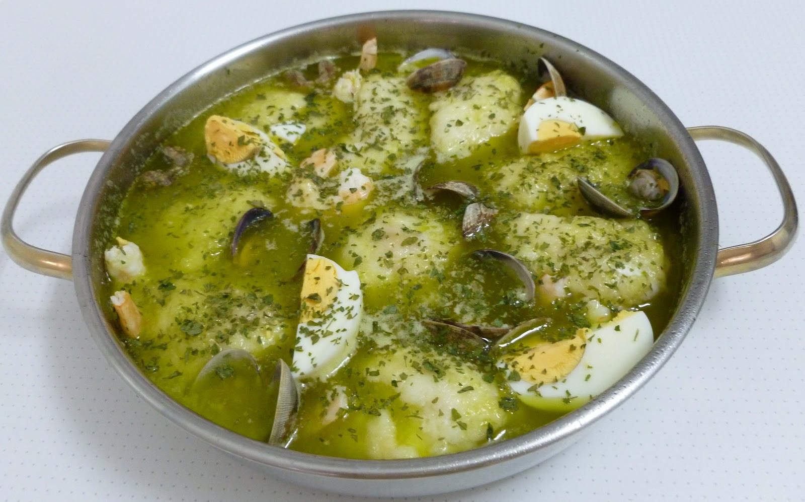 mi cocina merluza en salsa verde