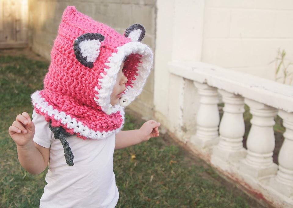 Free Crochet Pattern For Fox Cowl : Crochet Fox Hood Pattern Free images