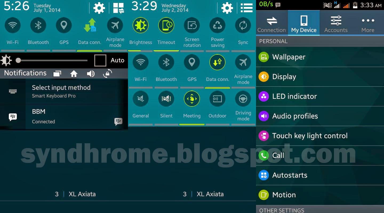 Membuat Lenovo A390 Menjadi samsung Galaxy S5? Bisa! Ini caranya
