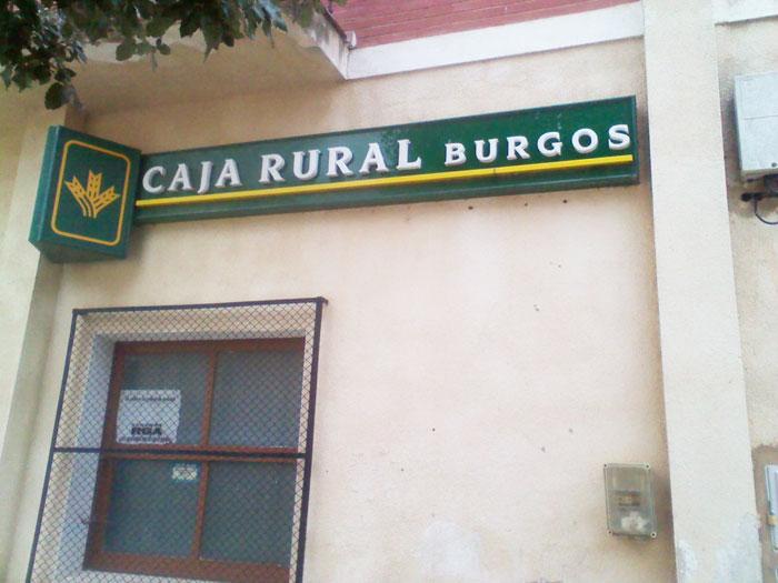 Salas de bureba caja rural y caja burgos cierran sus for Caja de ingenieros oficinas