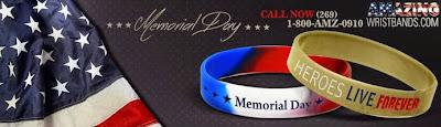 Memorial Day Wristbands