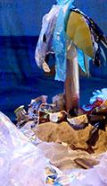 L'île aux Fleurs et son océan de déchets