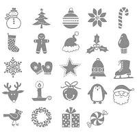 Stampin'UP! stamp set: Jolly Jingle Bits