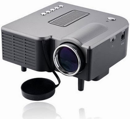 Extend projector lamp life uc28 pro mini led projector for Small powerful projector