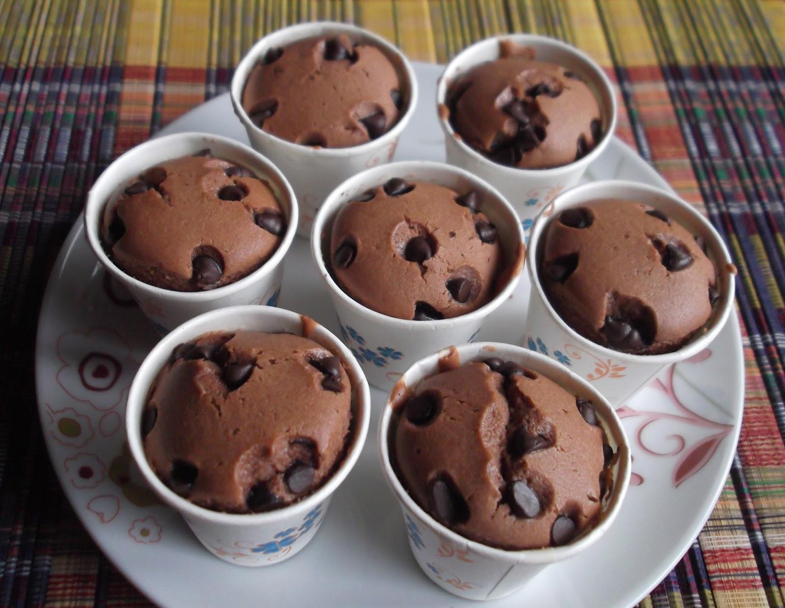 Muffin Coklat Cip