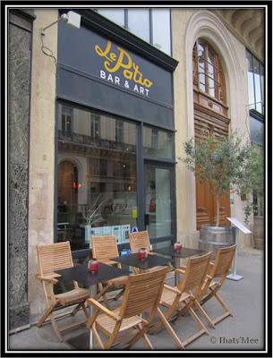 Le Patio Opéra Paris 9eme terrasse rue Mayerbeer