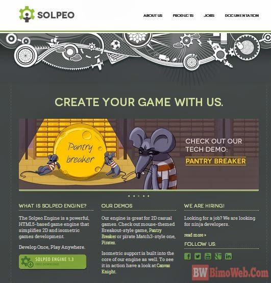 Solpeo HTML5 Game Framework