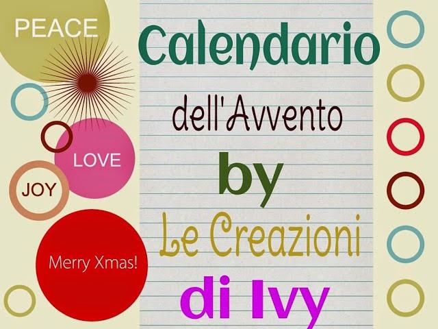 Il calendario dell'avvento.....