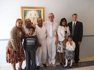 Last weeks baptism