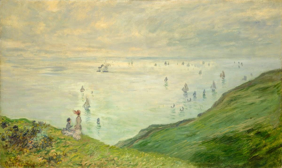 Falaises à Pourville (1882)