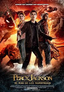 Percy Jackson y el mar de los monstruos (2013) poster