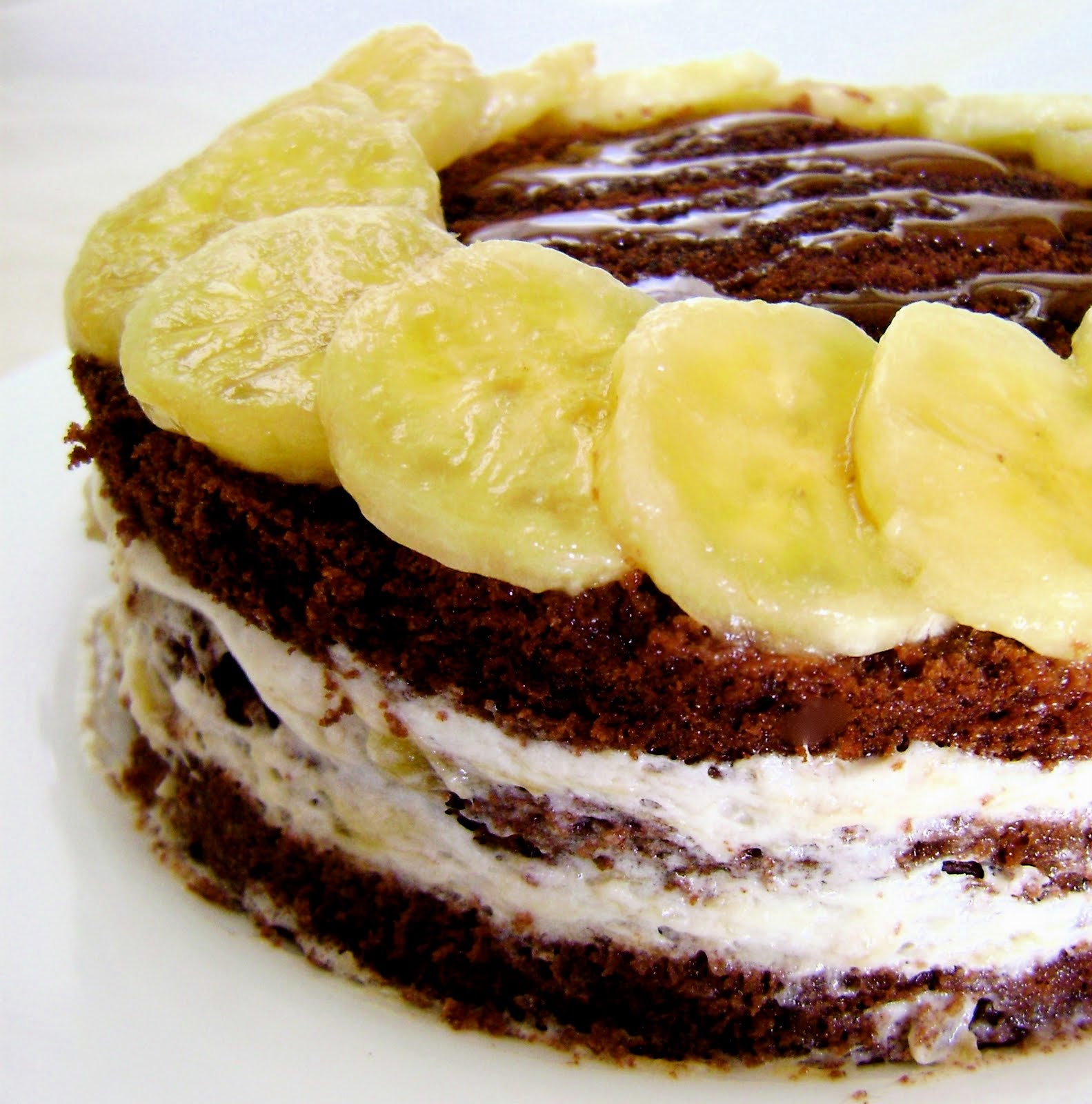 Банановый торт своими руками