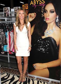 Audrina Patridge hot in tight white dress