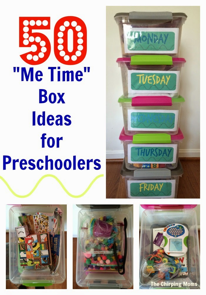 Quiet Time Boxes For Preschoolers Me The