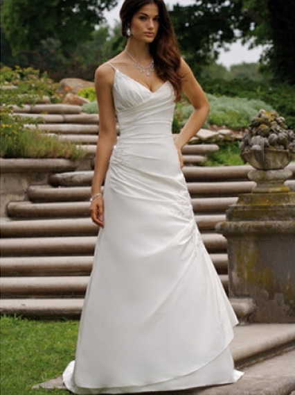 Casual Wedding Dresses Dallas : Casual wedding bridal dresses colors