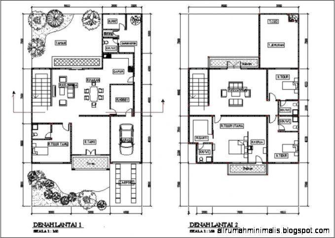 Desain Rumah Minimalis 2 Lantai Type 100  Cara Mendesain Rumah