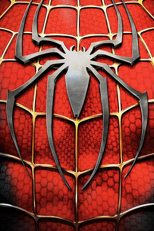 spiderman logo download iphone ipod touch android wallpapers