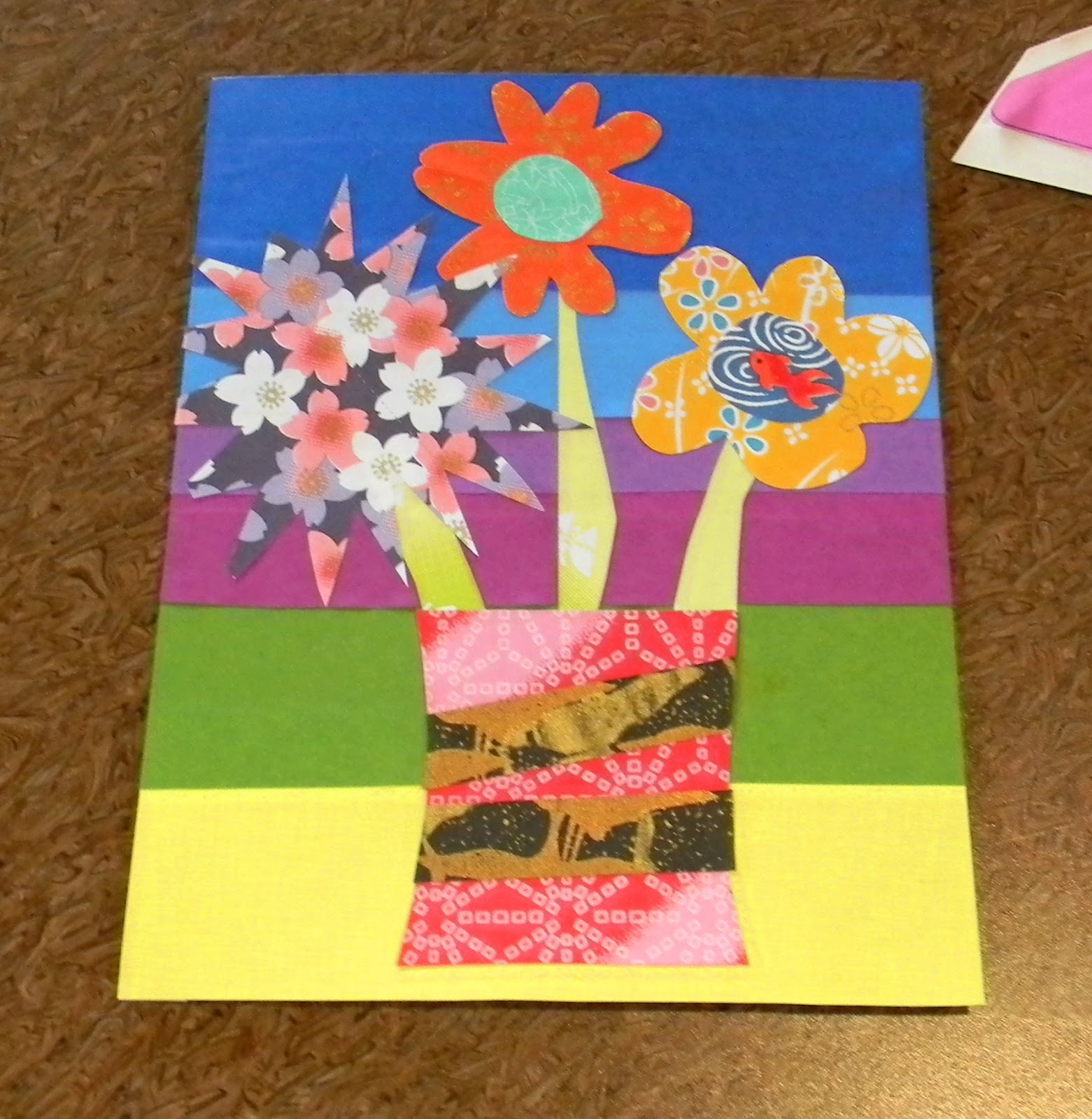 Handmade Paper Postcard Collage Make Something Daily