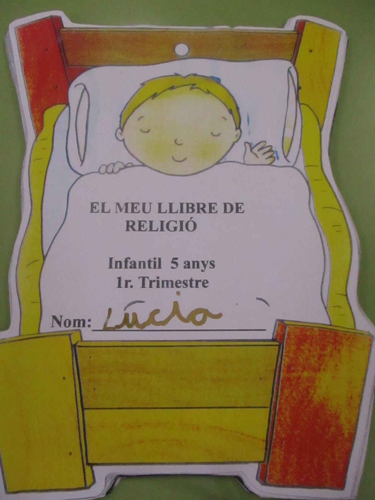 Llibre d'infantil 5 anys