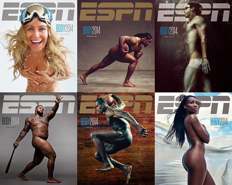 Διάσημοι αθλητές …γυμνοί στο περιβόητο ESPN!