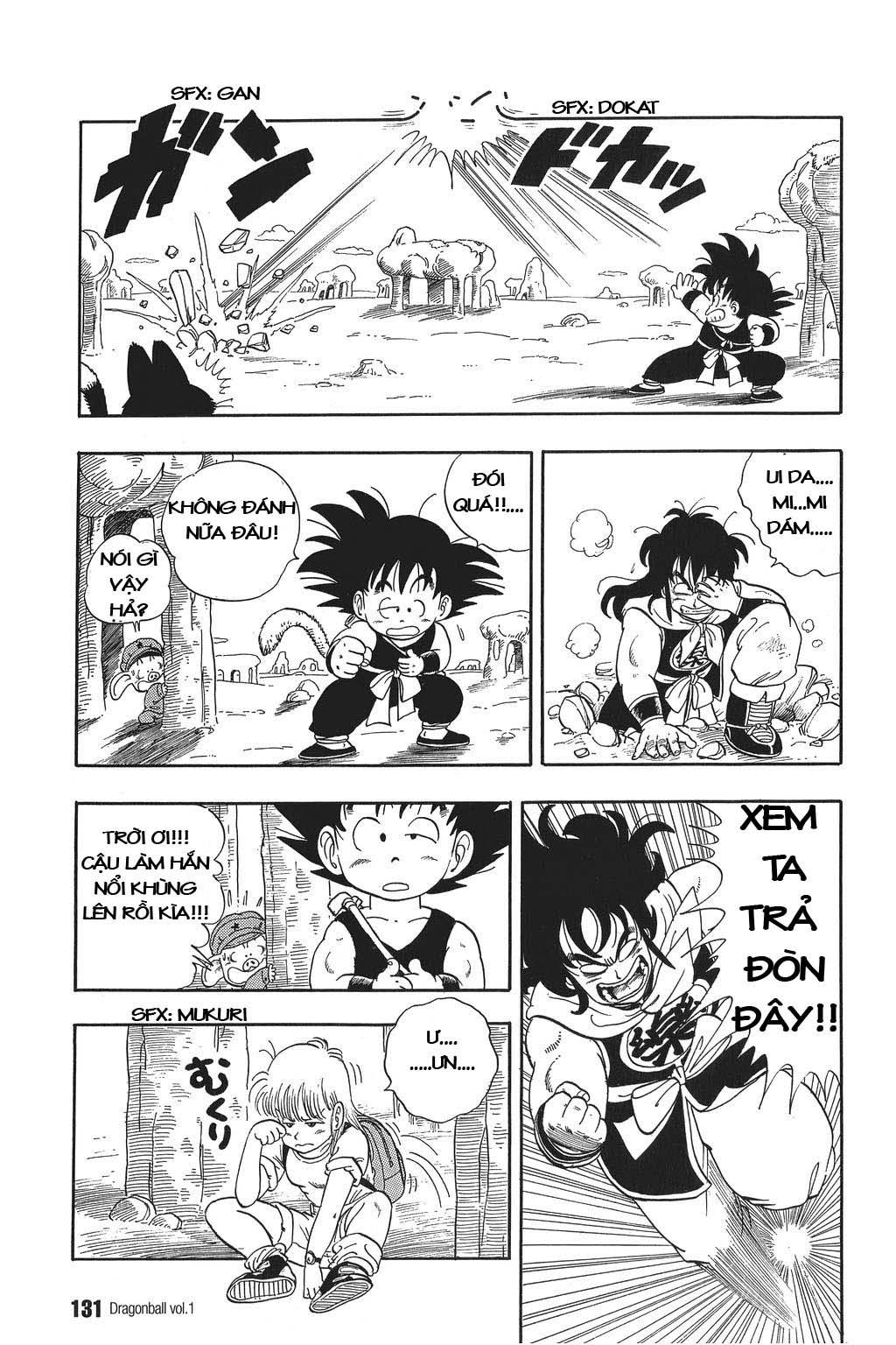 xem truyen moi - Dragon Ball Bản Vip - Bản Đẹp Nguyên Gốc Chap 8