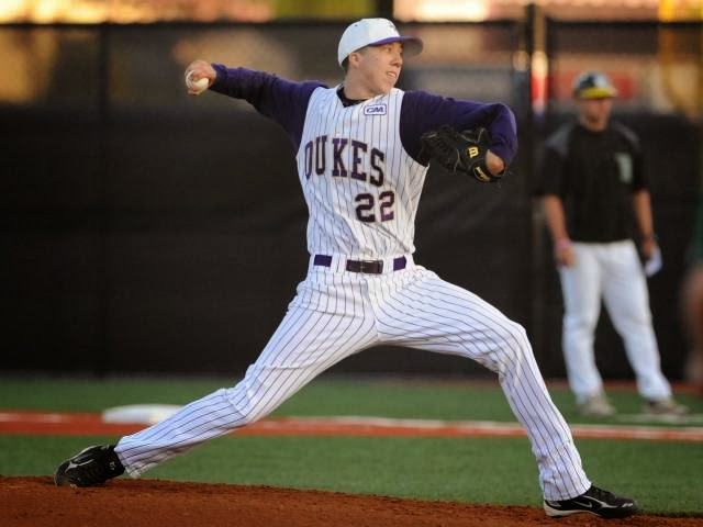 D.j. Brown, JMU, RHP, Baseball