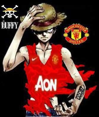 Manchester United Versi onepiece Wallpaper