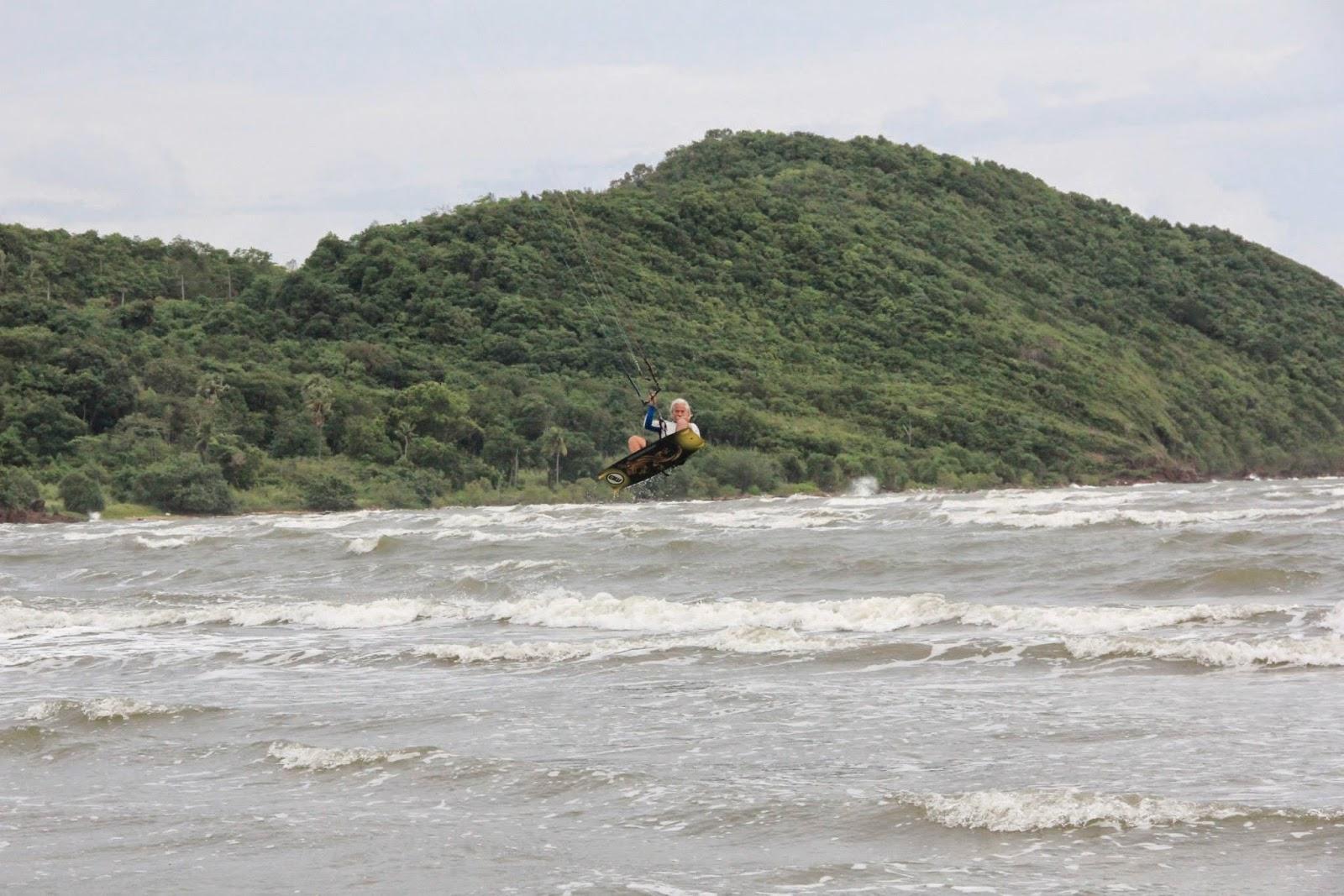 Kite Surfer in Pak Meng, Trang - Thailand