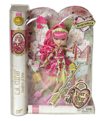 TOYS : JUGUETES - EVER AFTER HIGH : Heartstruck  C.A. Cupid | Muñeca - Doll  Producto Oficial 2015 | Mattel | A partir de 6 años  Comprar en Amazon