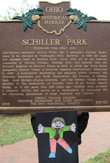 side 2 Schiller Park sign