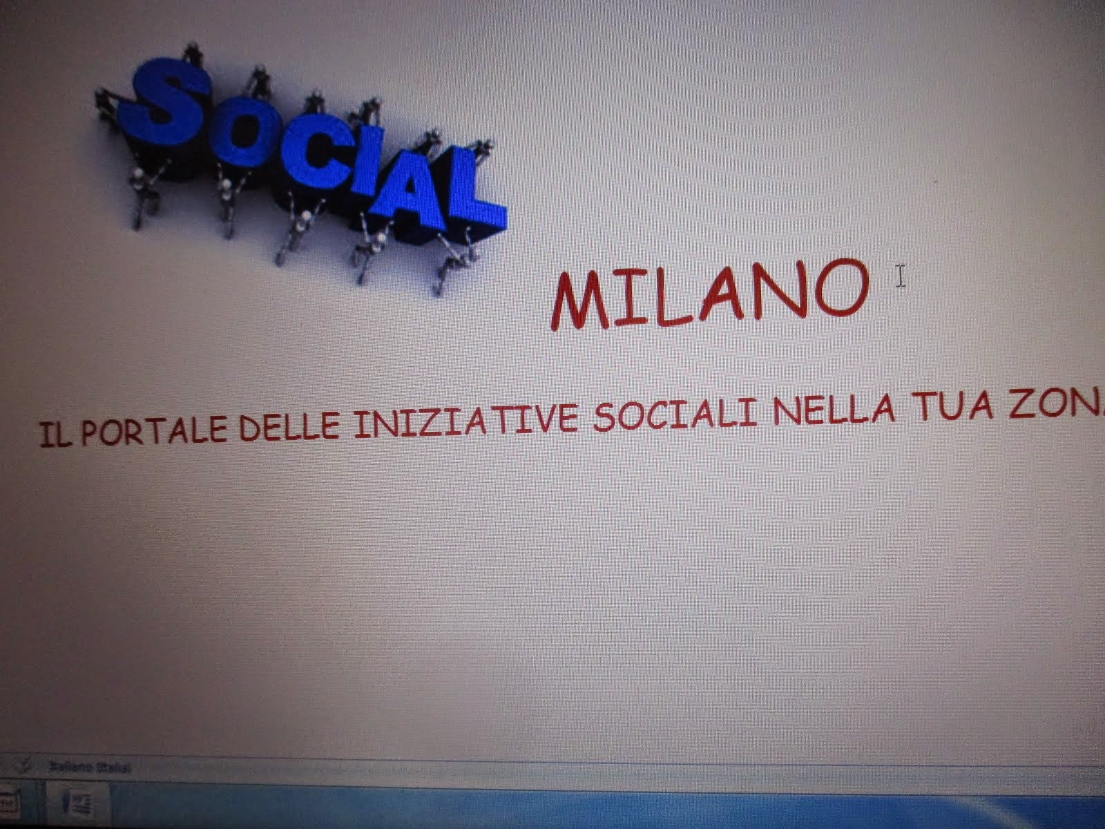 CLICK HERE UNDER SOCIAL MILANO