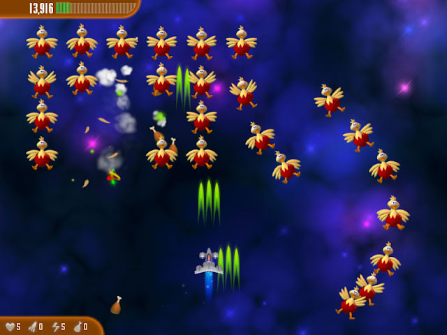 Chicken Invaders 3 PC Game For Windows